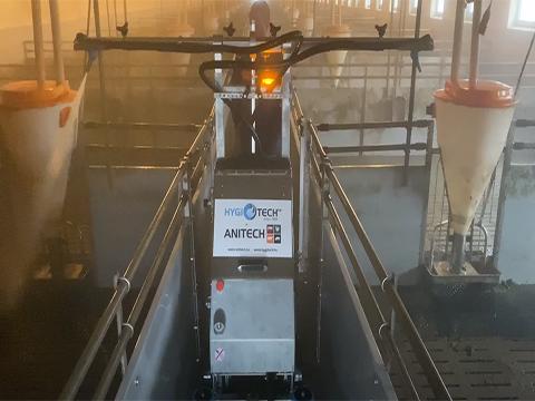 Wash Power ProCleaner X100 sertés mosórobot